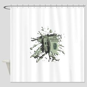 100Blot Shower Curtain