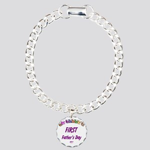 fathersfirst2011 Charm Bracelet, One Charm