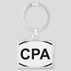 cpa Landscape Keychain