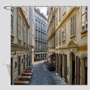 Wien Vienna City Shower Curtain