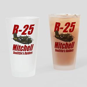 B25 Doolittes RaidersTee Drinking Glass