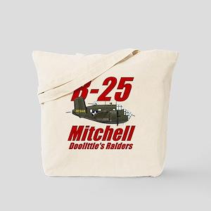 B25 Doolittes RaidersTee Tote Bag