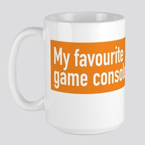My Favourite Game Console - Commonwealt Large Mug