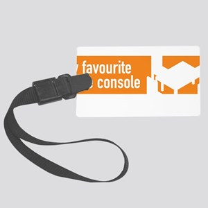 My Favourite Game Console - Comm Large Luggage Tag
