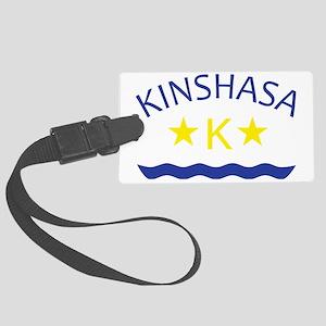 kinshasa Large Luggage Tag