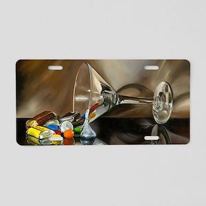 img533 Aluminum License Plate