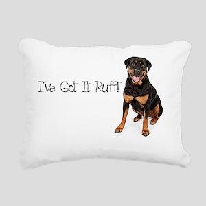 Tshirt Rectangular Canvas Pillow