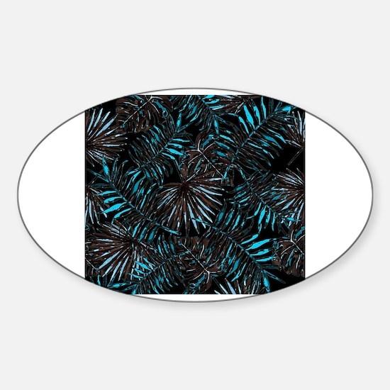 Caribbean soul Sticker (Oval)