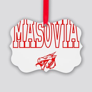 Masovia Red Dragons Picture Ornament