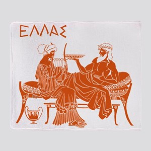 Ellas Ancient Greece01 Throw Blanket