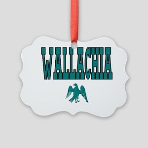 Wallacia Ravens Picture Ornament