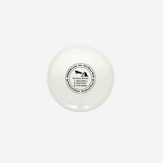 Cute Flyball Mini Button