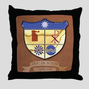 Shield-gussied-10x10_apparel Throw Pillow