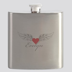 Angel Wings Evelyn Flask