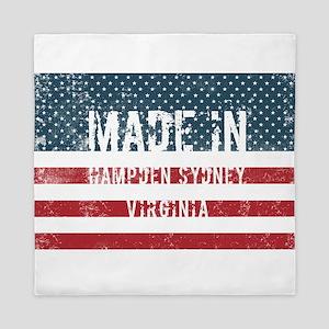 Made in Hampden Sydney, Virginia Queen Duvet