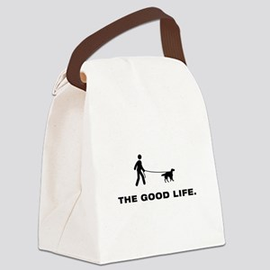 English Setter Canvas Lunch Bag