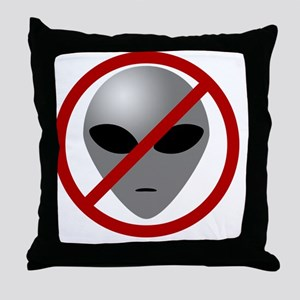 AlienBuster Throw Pillow