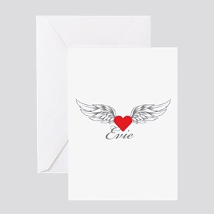 Angel Wings Evie Greeting Cards