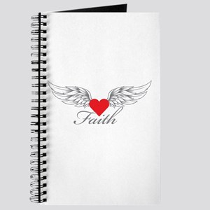 Angel Wings Faith Journal