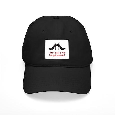 I Don't Need A Man Black Cap
