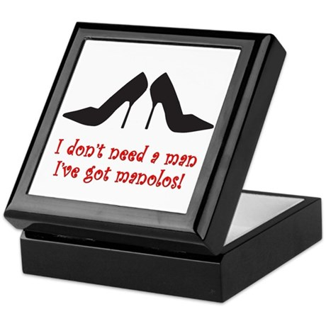 I Don't Need A Man Keepsake Box