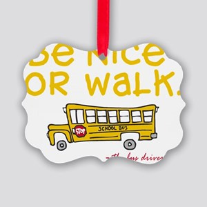 be-nice Picture Ornament