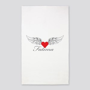 Angel Wings Fatima 3'x5' Area Rug