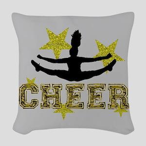 Cheerleader Woven Throw Pillow