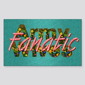 armywivesfanatic1 Sticker (Rectangle)