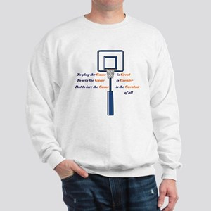 Basketball Love the Game Sweatshirt