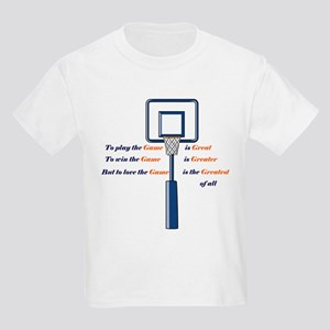 Basketball Love the Game Kids T-Shirt