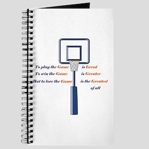 Basketball Love the Game Journal