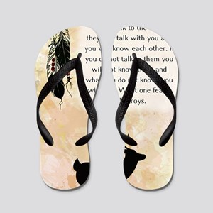 nativeamerican_journal_elk Flip Flops