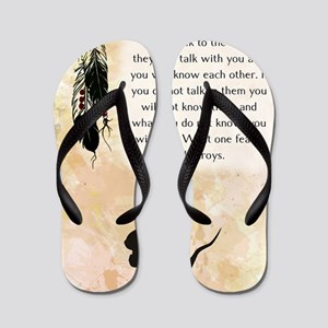 nativeamerican_journal_mouse Flip Flops