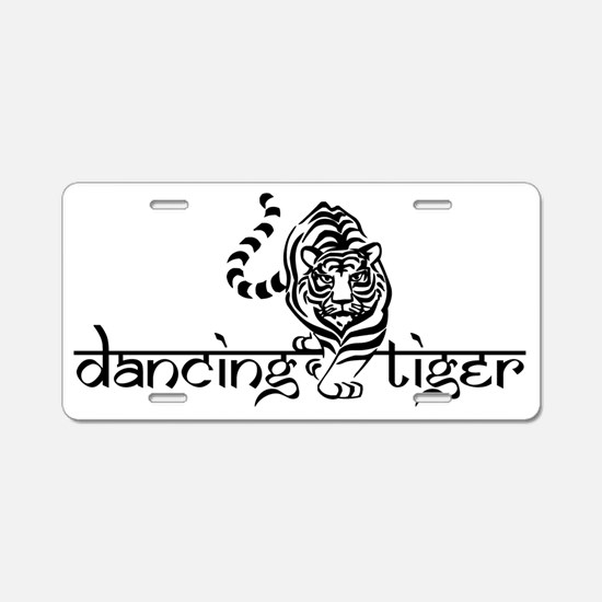 DT Logo from Idell.gif Aluminum License Plate
