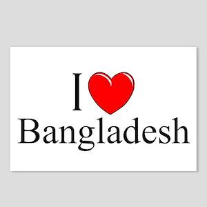 """I Love Bangladesh"" Postcards (Package of 8)"