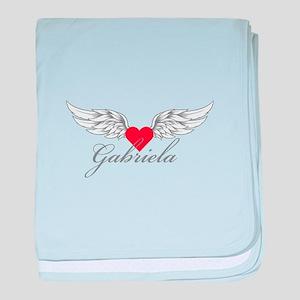 Angel Wings Gabriela baby blanket