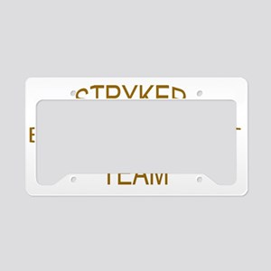 1st bn 24th INF SBCT License Plate Holder