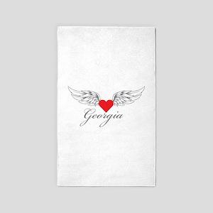 Angel Wings Georgia 3'x5' Area Rug