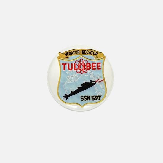 tullibee patch transparent Mini Button