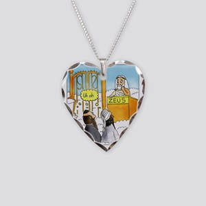 Zeus1 Necklace Heart Charm