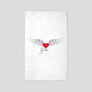 Angel Wings Gia 3'x5' Area Rug