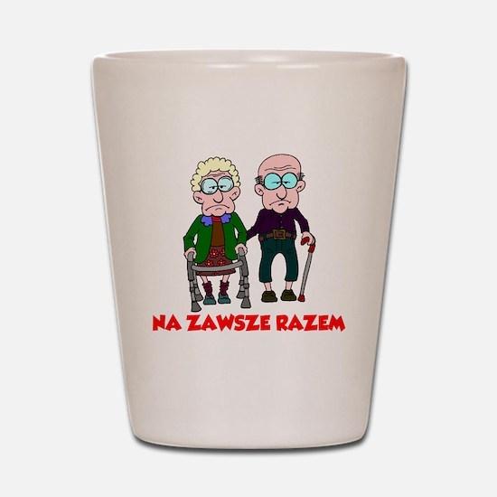 Na Zawsze Razem Shirt Shot Glass