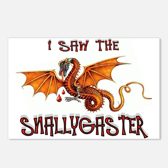 SNALLYGASTER DONE Postcards (Package of 8)