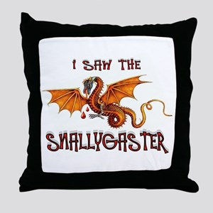 SNALLYGASTER DONE Throw Pillow