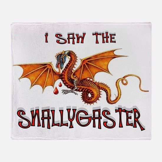 SNALLYGASTER DONE Throw Blanket