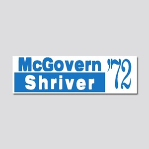 McGovern 1972 Car Magnet 10 x 3