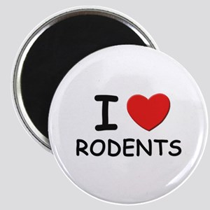 I love rodents Magnet