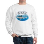Shark- got surfers? Sweatshirt