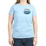 Shark- got surfers? Women's Pink T-Shirt